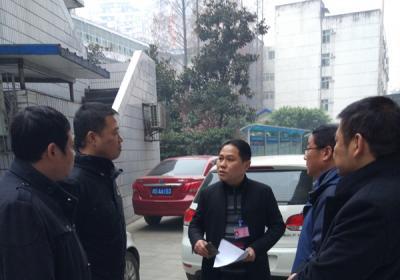 王刚副院长带队对我院安全生产工作进行全面检查