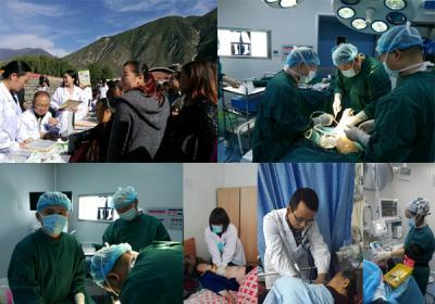 我院对口援助九寨沟县人民医院有序开展医疗工作